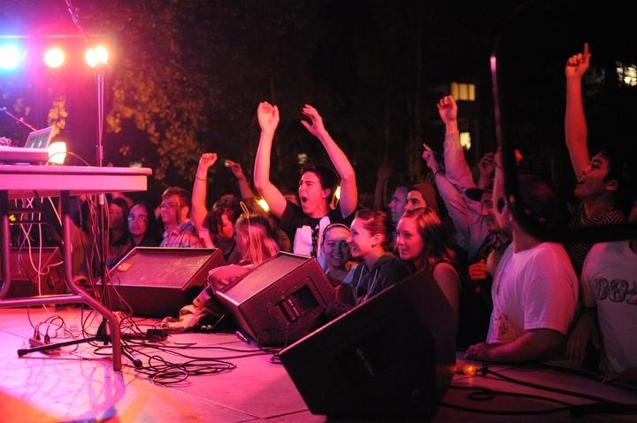 DJ Vice Versa performs at Endfair 2010 Saturday May 15, 2010. Photo by Daniel Berman