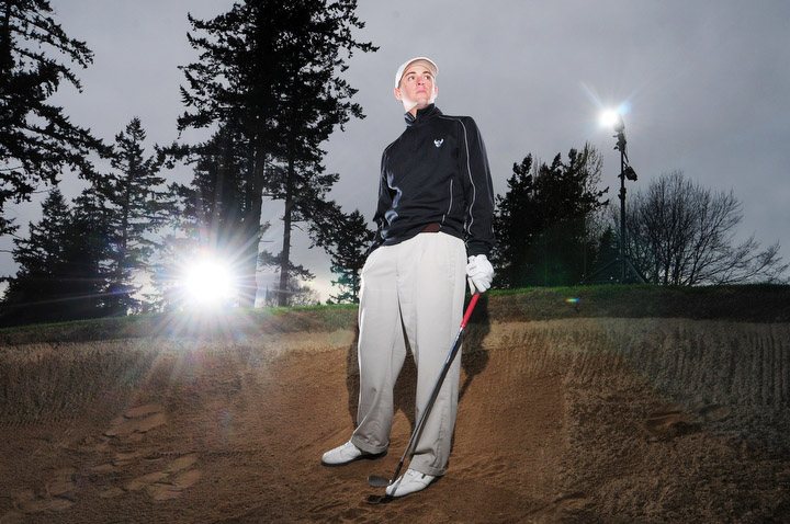Xavier Dailly, Western Washington University golfer