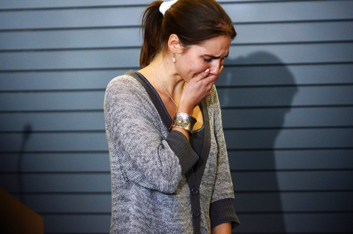 Amanda Knox Photos Seattle Arrival 10-4-11